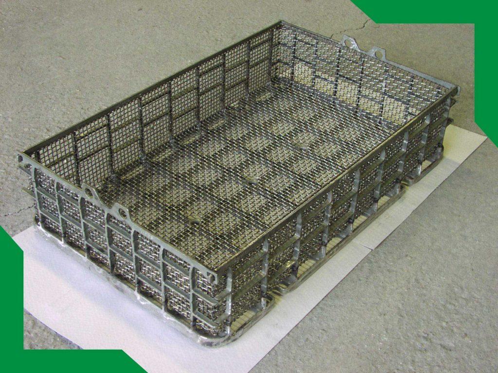 Koše pro tepelné zpracování | SIKR, s r.o. | Výrobce, prodejce průmyslových sítí a pletiv - Jablonné v Podještědí